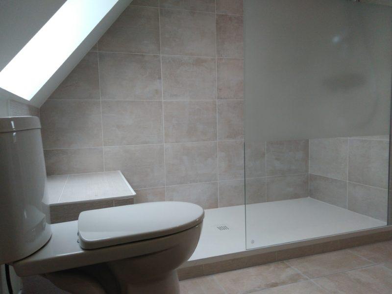 Rénovation toilettes et douche